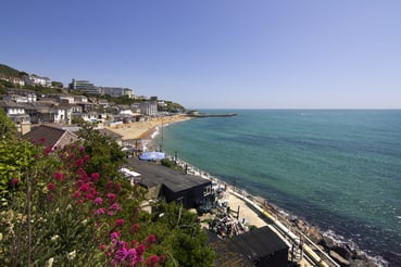 A view across Ventnor bay, Isle of Wight