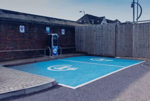 Rapid charging point