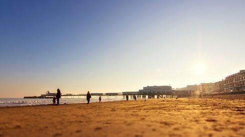Sandown Beach, IOW